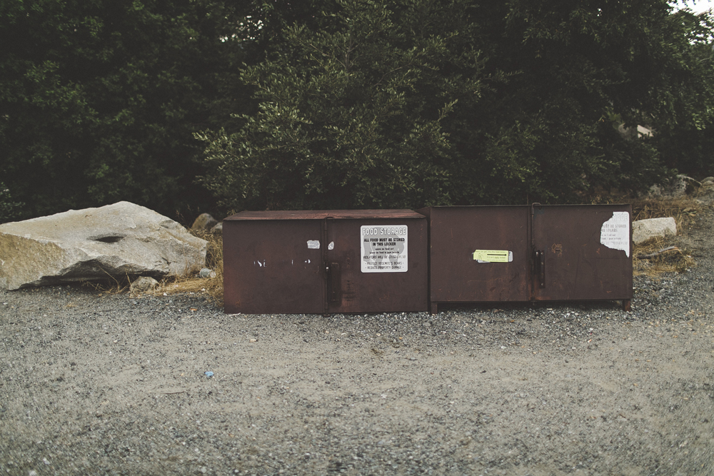 Bear proof bins & storage containers.