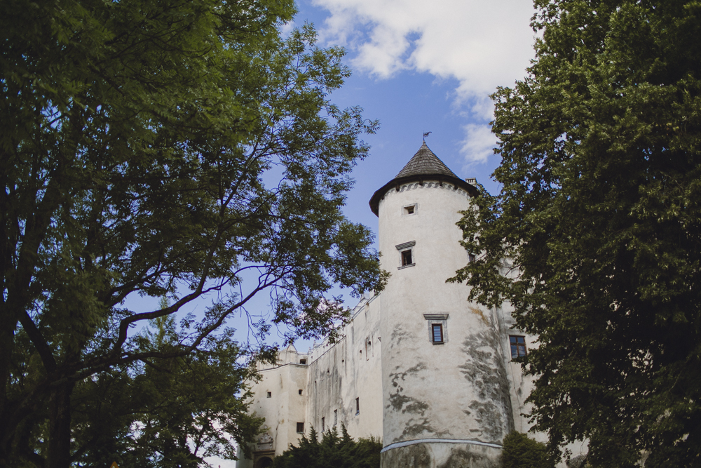 Visiting a 15th century castle in the countryside of Krakow.