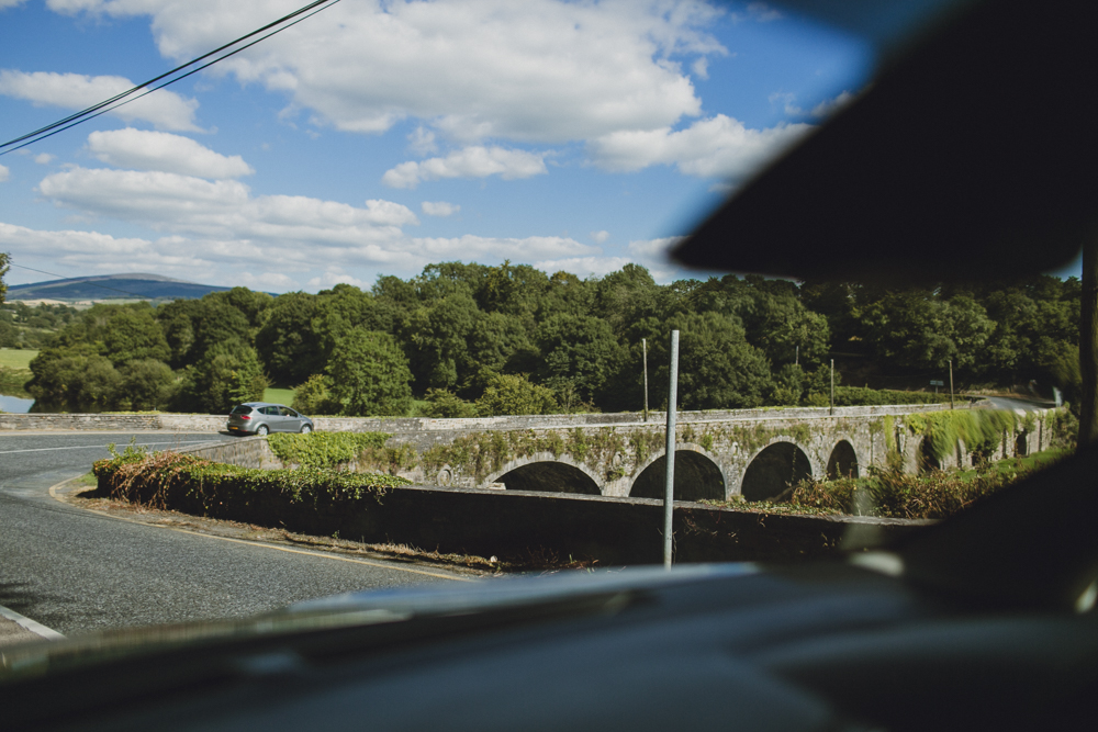 Glimpses of the Irish countryside.