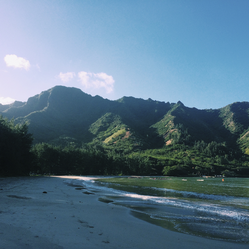 Kahana Bay Beach Park.