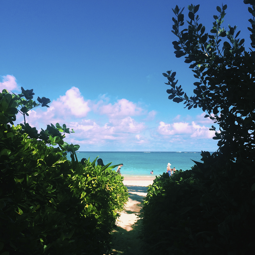 Lanikai Beach.