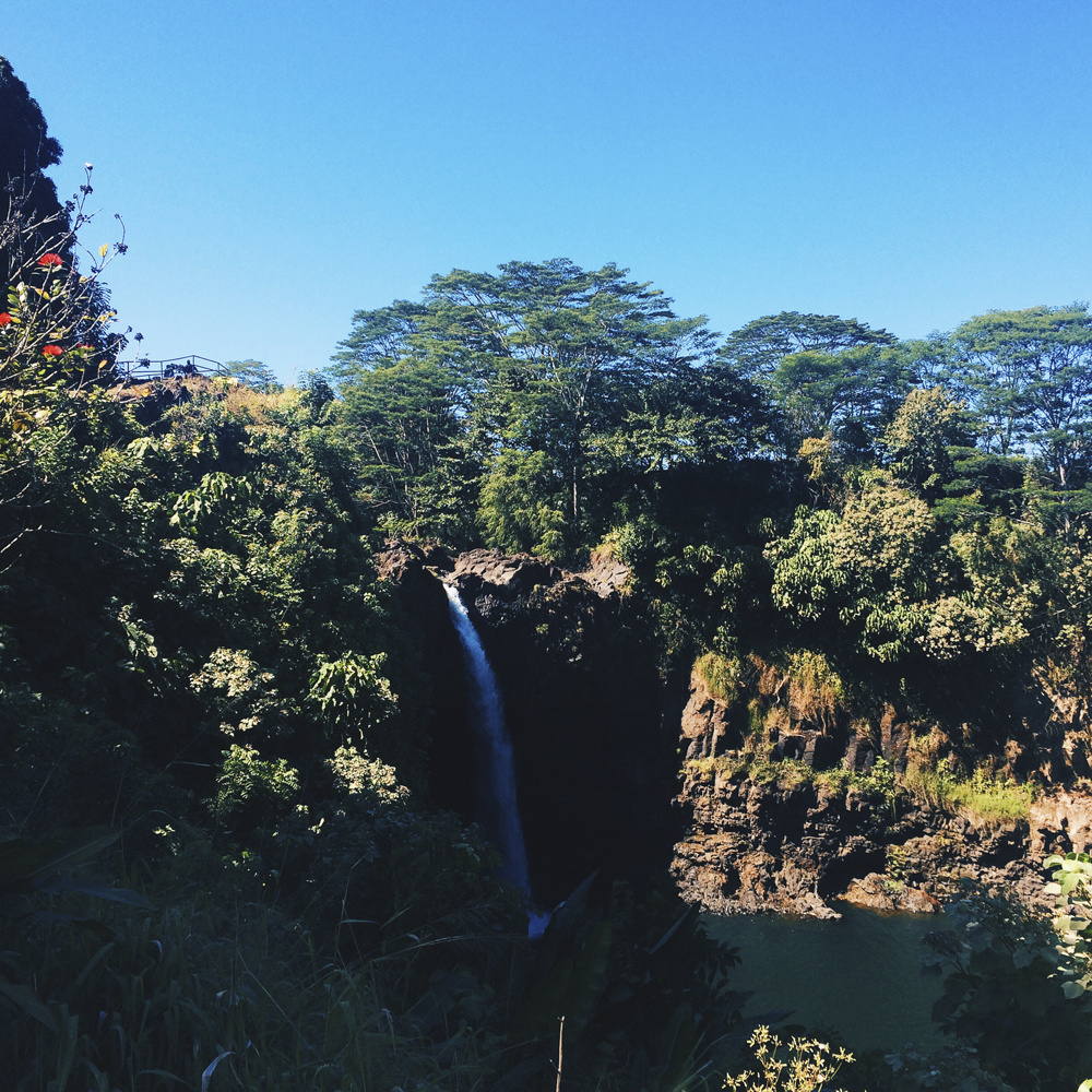 Rainbow Falls.