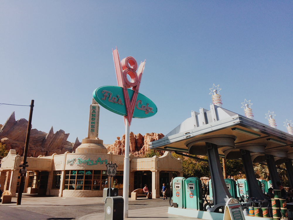 Exploring Disney California Adventure Park.