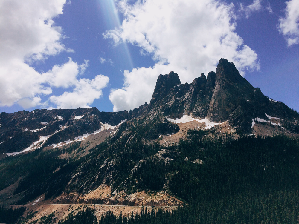 Washington Pass Overlook in North Cascades National Park.