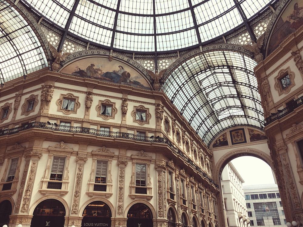 Exploring Milan.