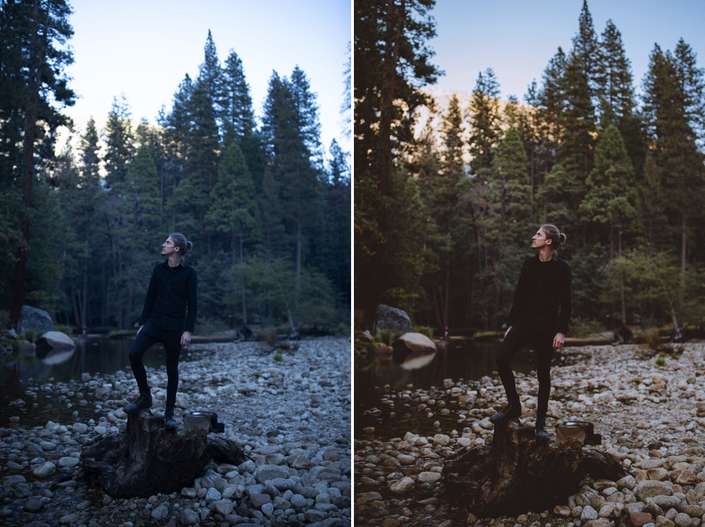 before // after - edited with my   Florence Lightroom Preset