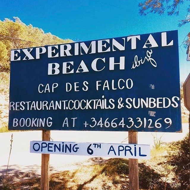Opening soon ! 🏝☀️ #opening #beach #cocktails #sun #sand #ibiza