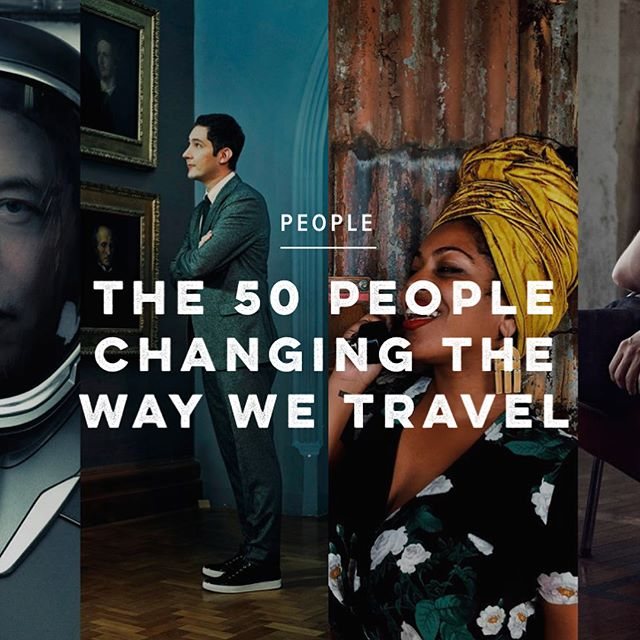 We are thrilled, thunderstruck and positively ecstatic to be included in @cntraveler '50 People Changing the Way we Travel,' alongside national treasures like David Attenborough, technological trailblazers such as, Elon Musk, aesthetic pioneers and visionaries like Wes Anderson and not to mention actors come activists like Leonardo Dicaprio (to name just a few.) We are truly humbled but more importantly delighted to continue both 'trend- trapping' and globetrotting with our contemporary approach to hospitality.' #experimentalgroup #davidattenborough #cntravel #elonmusk #leonardodicaprio #wesanderson #travel #wanderlust #globetrotting #experimentalgroup #experimentalcocktailclub #travel #condenast  https://www.cntraveller.com/gallery/the-50-people-changing-the-way-we-travel