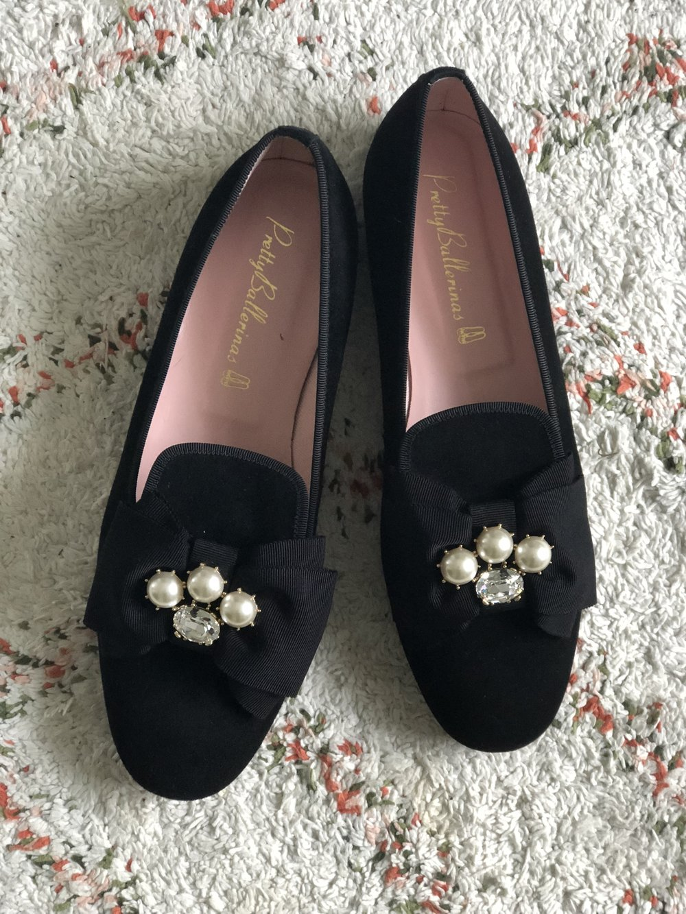 sko fra  Pretty ballerinas  købt på tilbud 1125 kr.