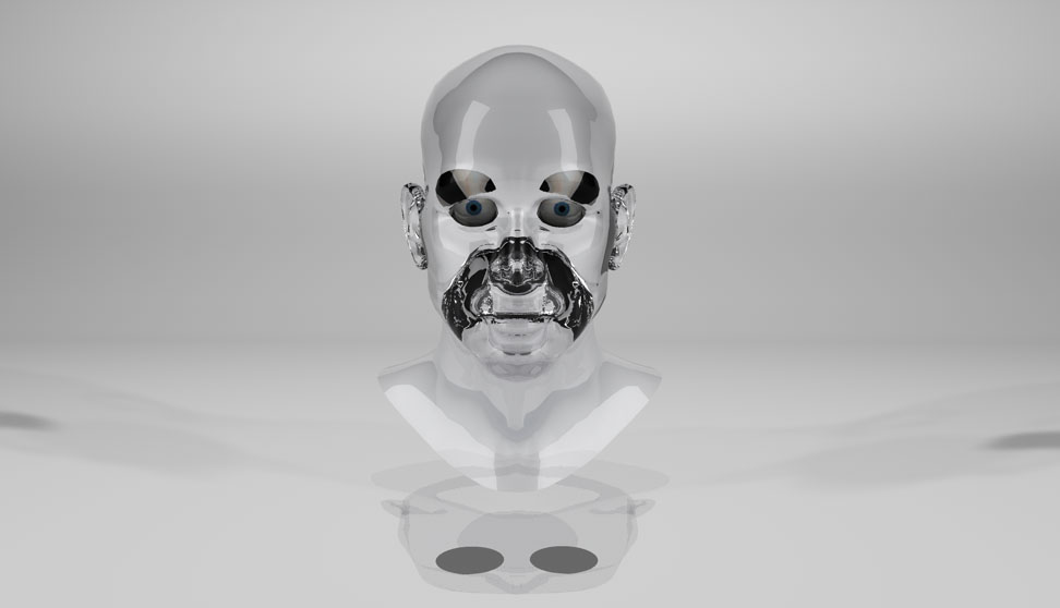 Glass Head_Texture Test