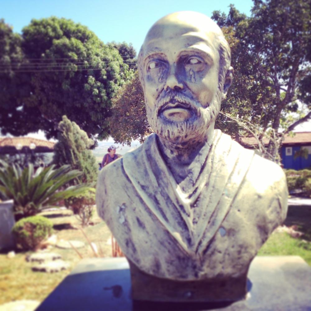 La statua di Dom Ignacio di Loyola