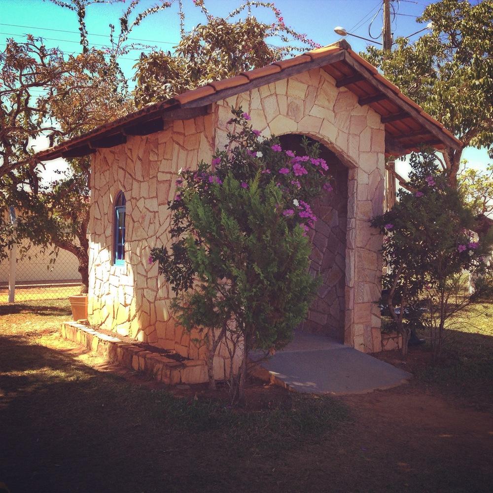 La piccola cappella della Casa
