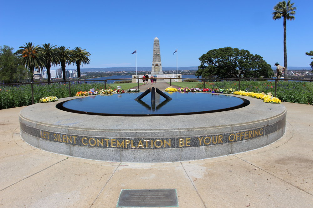 State war memorial - Kings park, perth, western australia