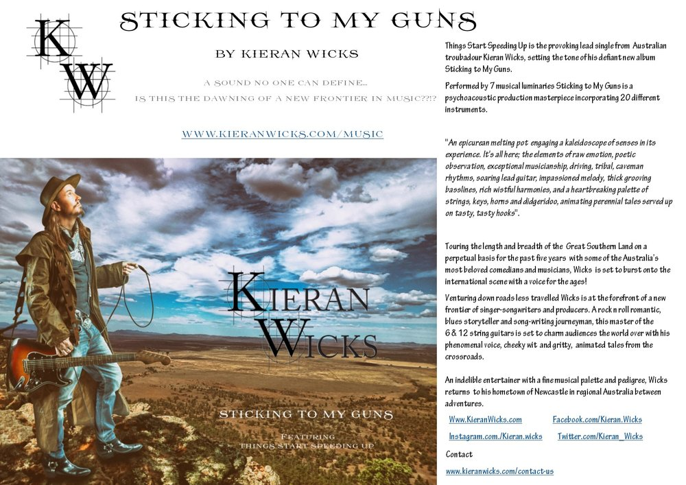 Kieran Wicks - Biography 230617
