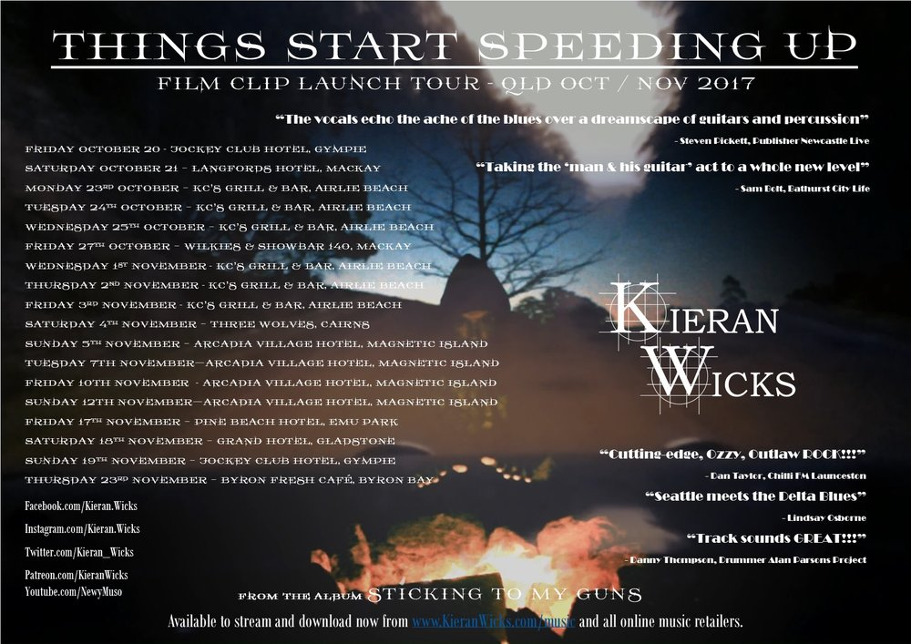 Kieran Wicks - Things Start Speeding up Tour Poster Oct-Nov 2017 V3.jpg