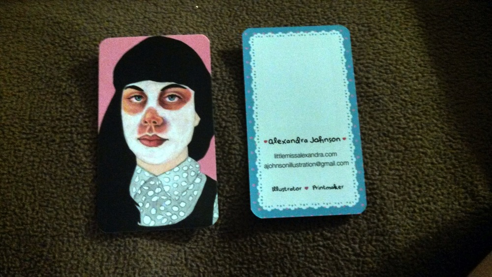 My business cards! :3