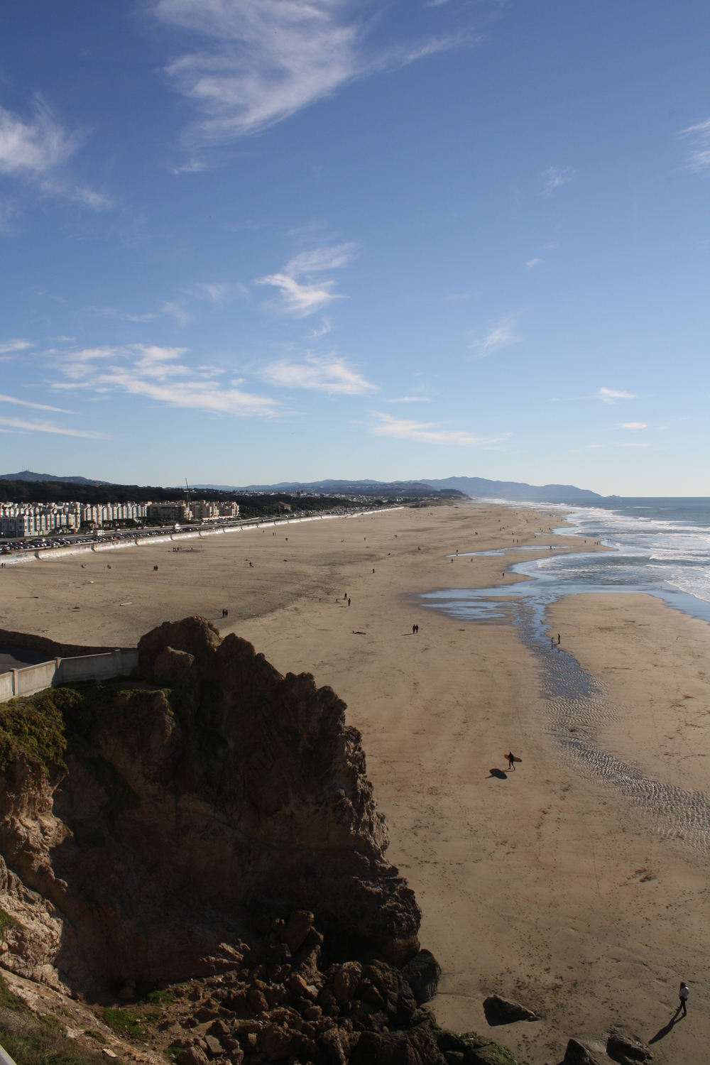Ocean Beach - view from the Cliff House