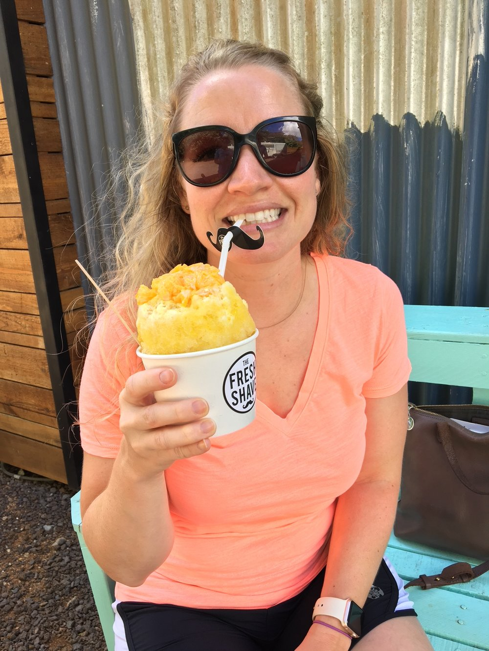 The best shave ice on the island :)