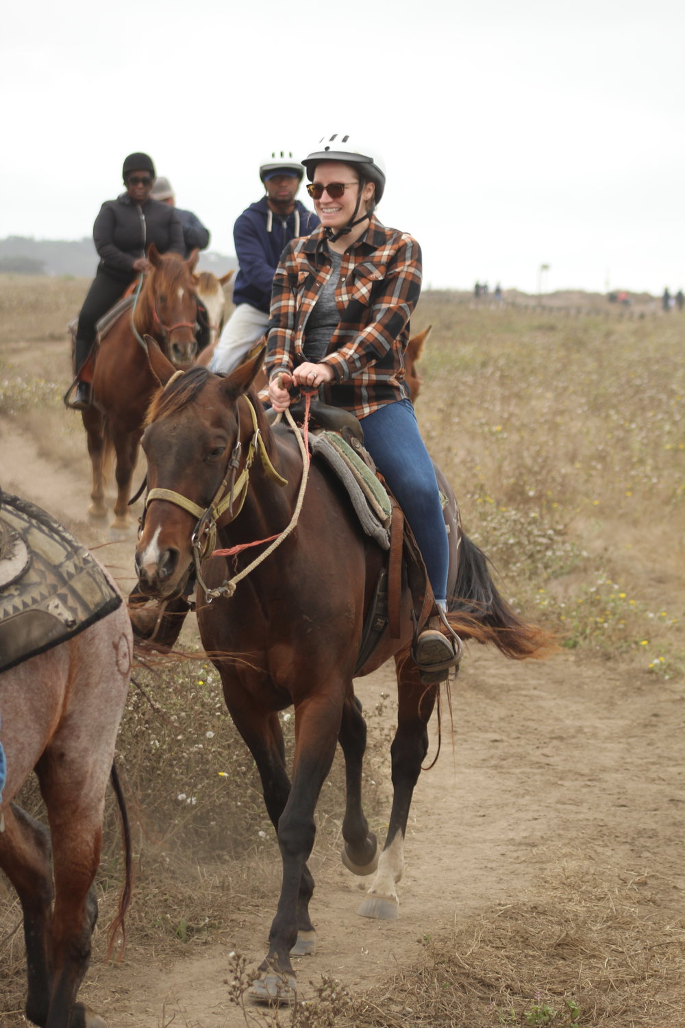 Horseback riding in Half Moon Bay