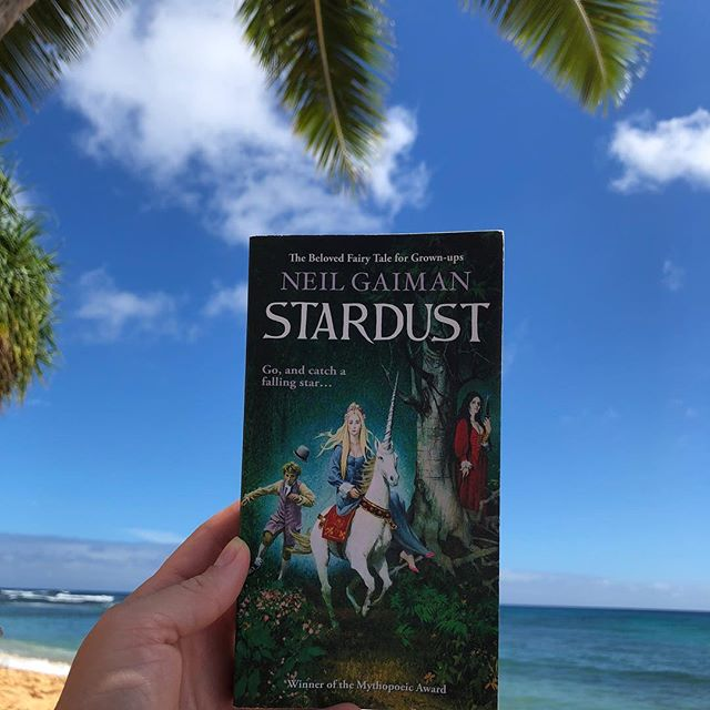 My summer reads ☀️ 📖. . (1) Stardust by Neil Gaiman - I've loved the movie for years but didn't know until recently it was based on a book! It was a little different than the movie, but just as charming and well-paced. All changes in the movie made perfect sense for translating to screen, so I wasn't disappointed at all. Love a good adult fantasy novel, and this one still retains a childish spirit throughout. . . (2) The Woman in Cabin 10 by Ruth Ware - I read this one in a day while we were in Hawaii... it's the quintessential page-turner beach read. The tone is set in the first few pages of the book and it never really hits a slow spot, nor does it try to be something it's not. A great escape if you like murder mysteries on the lighter side; not too gory or twisted. . . (3) Then Again by Diane Keaton - Goodness gracious I love Diane Keaton. She's just the right amount of kooky, but relatable. This memoir centers mostly around her relationship with her mother and the part it played in her life. Easy to read as it reads much like a journal, many excerpts pulled from her mother's many diaries she kept throughout her whole life. Highly recommend if you're a fan of memoirs. . . (4) Into the Water by Paula Hawkins - this is the author that wrote Girl on the Train... this is similar in tone, although in my opinion a little less stressful to read as far as setting and character interactions. I read it over Labor Day weekend - another great murder mystery page turner. . . Not pictured: Sharp Objects by Gillian Flynn. I wanted to read this one before I watched the HBO series based on it. The book was definitely better than the show, in my opinion. But overall the plot was pretty sick and weird... it's not a typical murder mystery as it includes that extra little twisted, f*cked up psychological aspect similar to Flynn's other massive book, Gone Girl. It was riveting, though! Wouldn't really recommend the HBO series... it was just way too overdone for me. . Off to pick out my Fall reads! 🍁 📖.