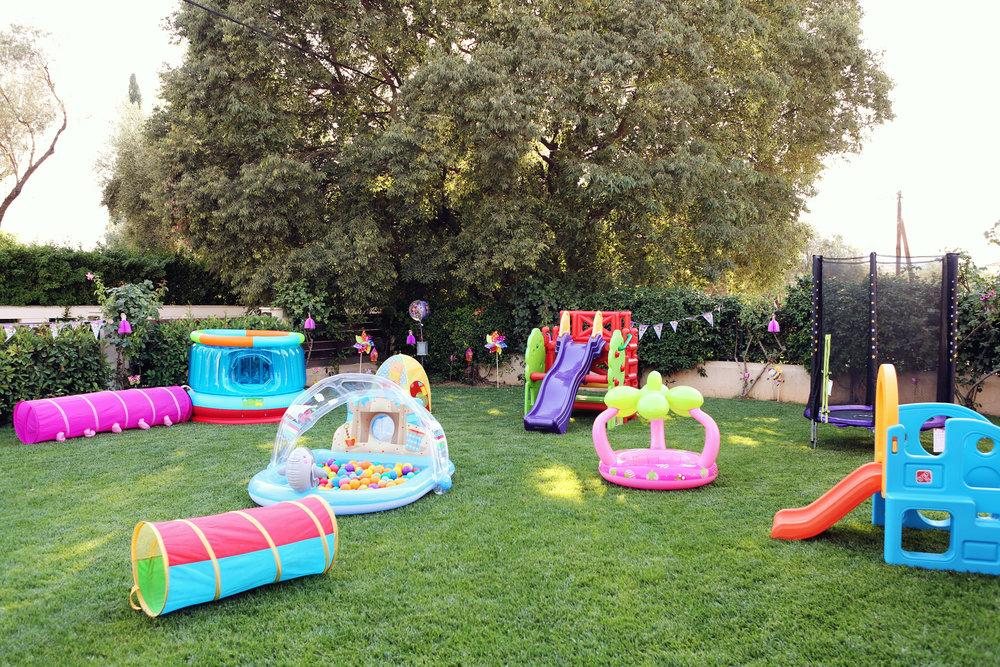 Superbe Backyard Birthday Party
