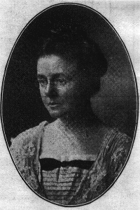 Dr Helen MacMurchy.  Photo courtesy of University of Toronto Archives.