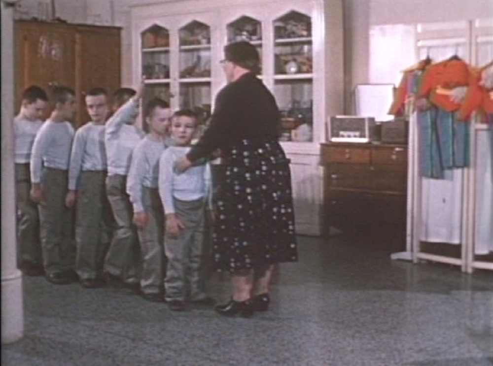 Kindergarten Class, Ontario Hospital School, 1960