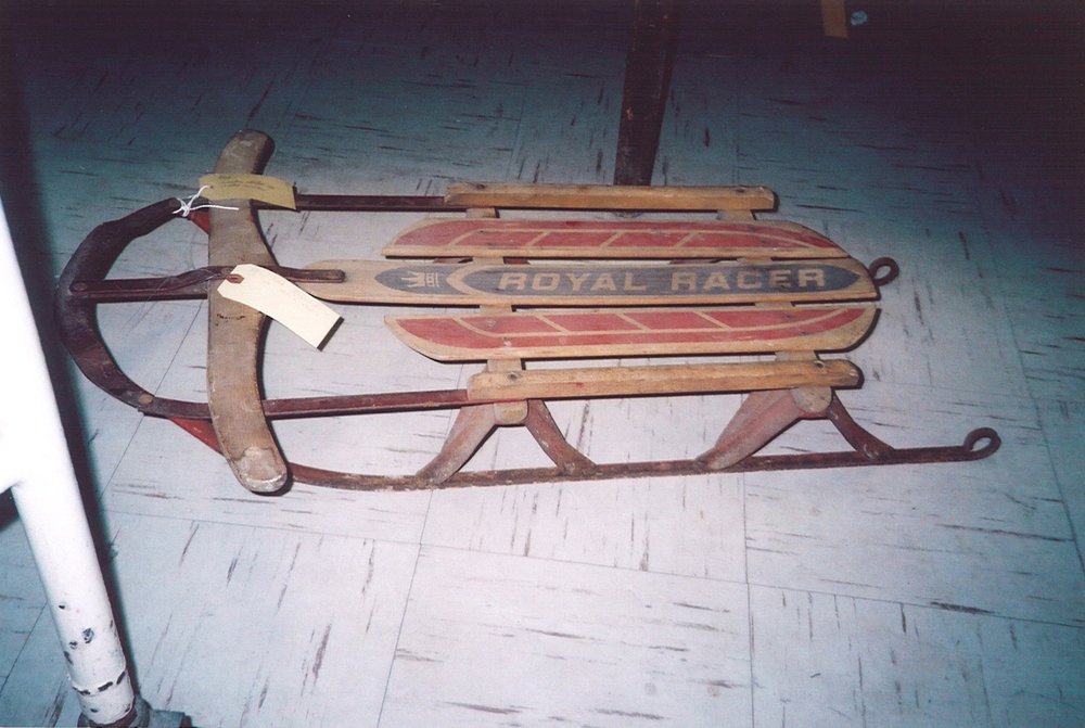 Royal Racer Sled, 1950