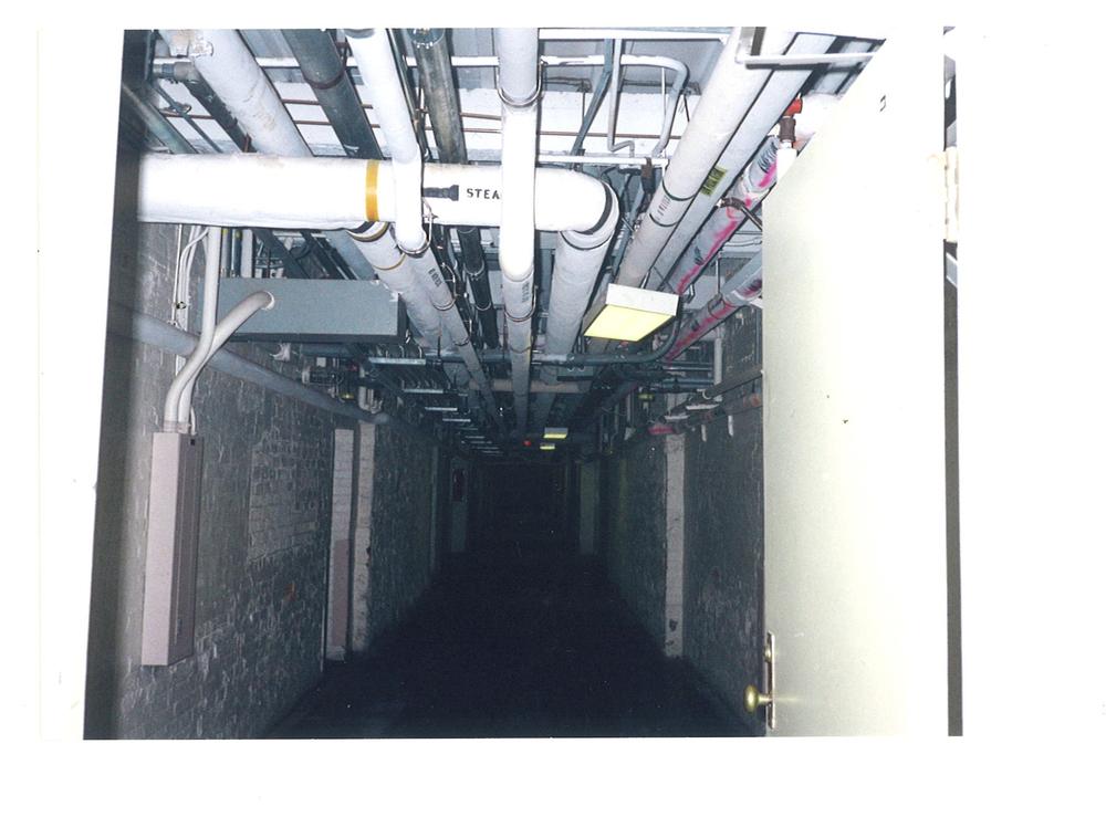 Tramway – underground tunnel.