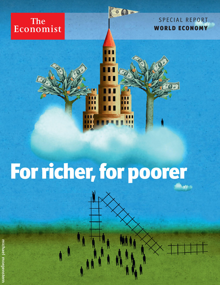 """""""For richer, for poorer"""" - Economist"""