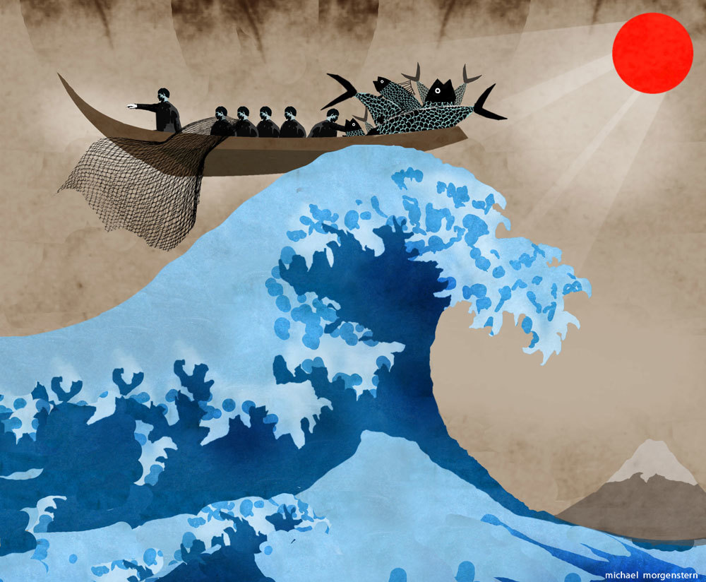 The great wave - A look at how Japan views the sea, and itself - the Economist