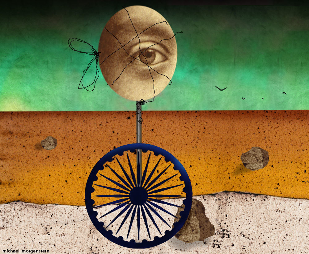 India's hamstrung visionary, for  The Economist