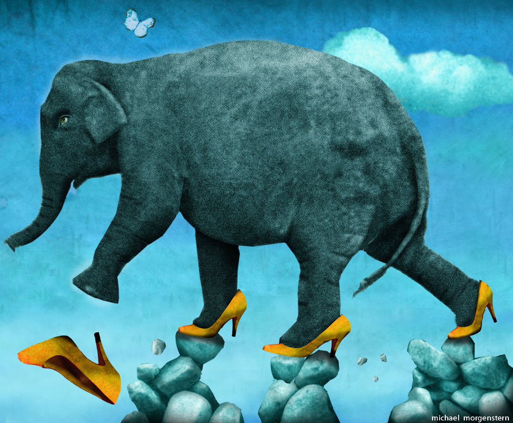 """Does the elephant dance?"" - India's problems at home -- the Economist"