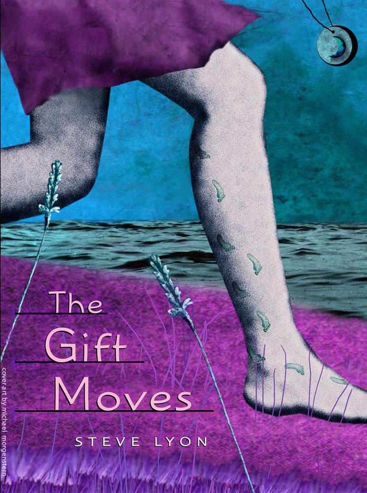"""The Gift Moves"" - cover for the novel by Steve Lyon - Houghton Mifflin"