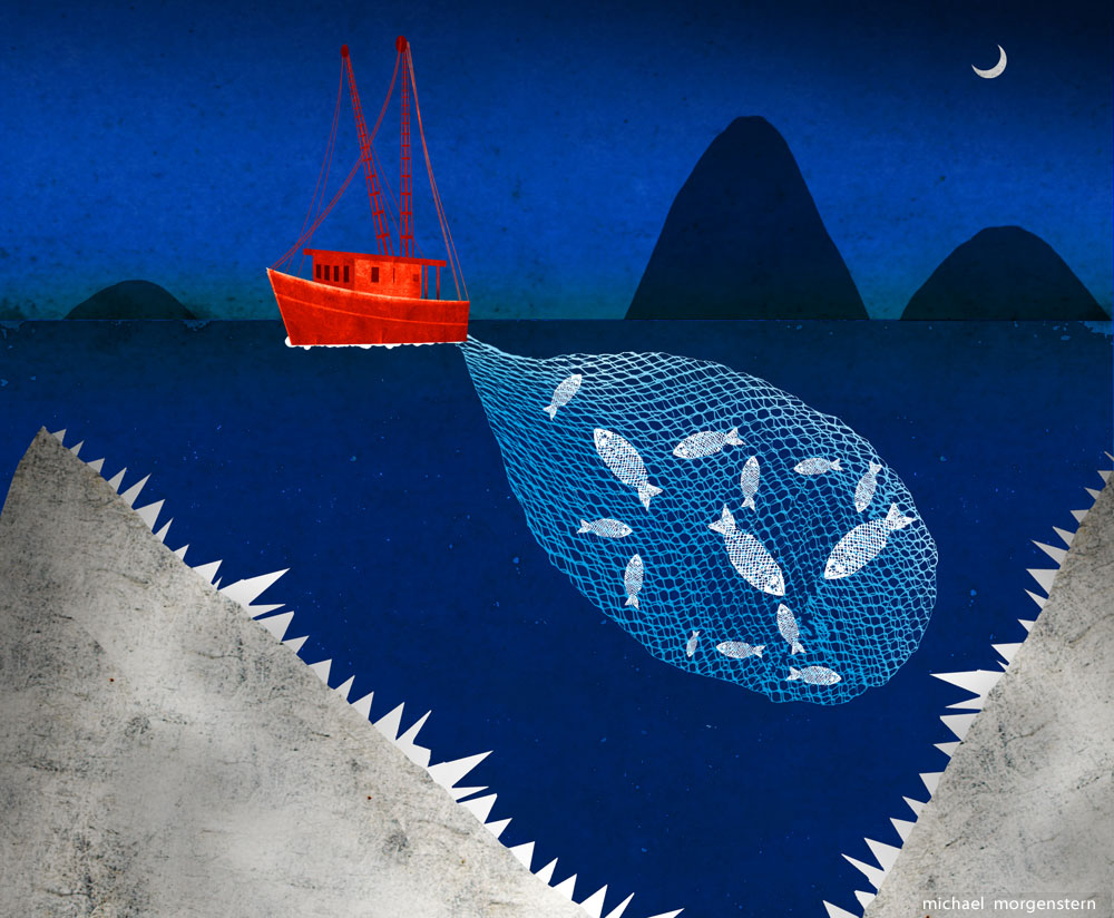 """""""Trawling for trouble"""", The Economist"""