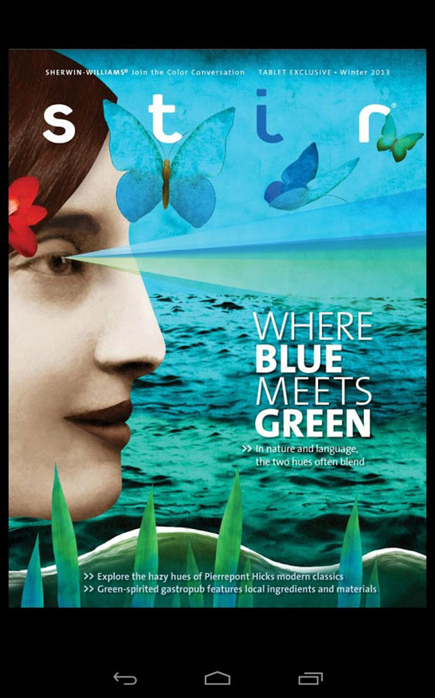 Where Blue Meets Green