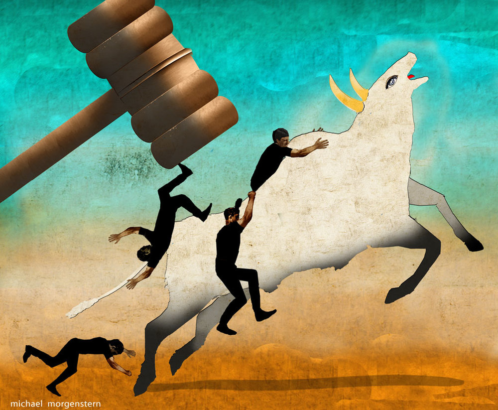 Riding sacred cows, The Economist