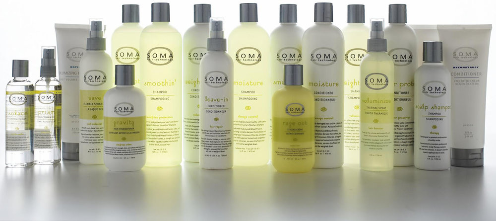 SOMA Hair Care Products at Shagin Salon