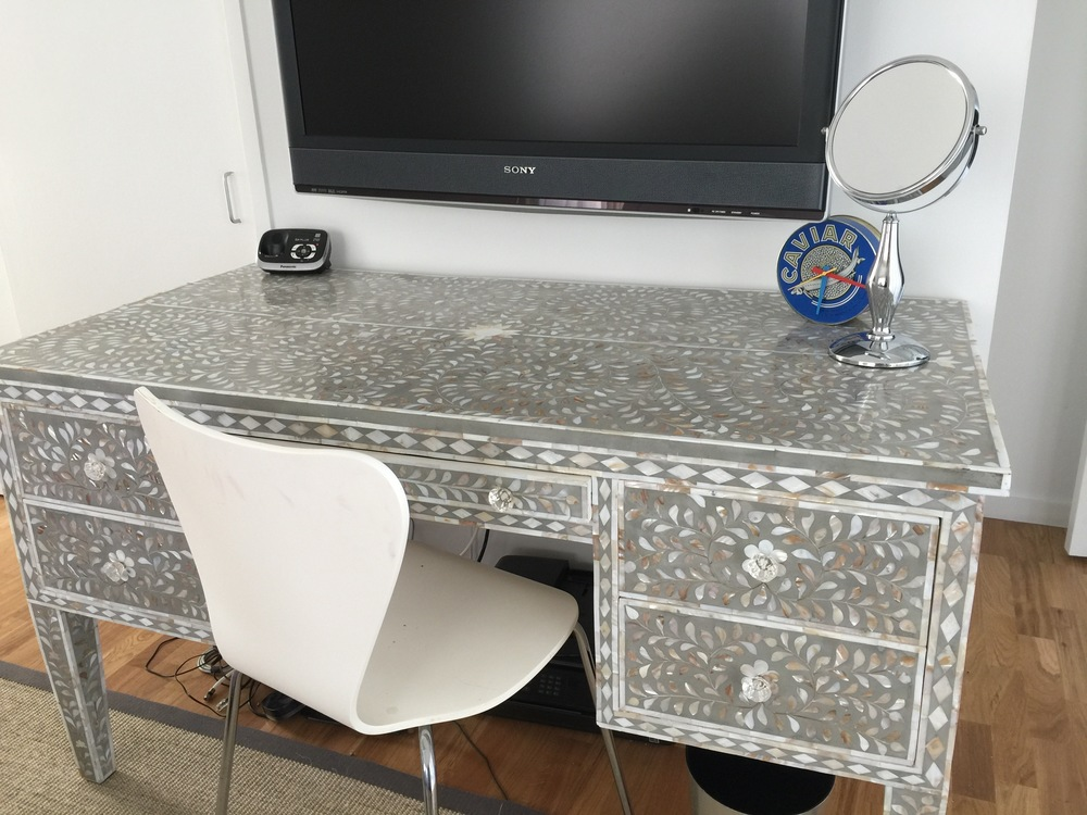 Mother of Pearl Inlay Desk