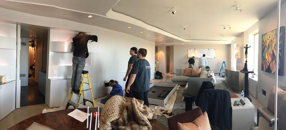 Project Managing Crews For Fifth Avenue Condo Move