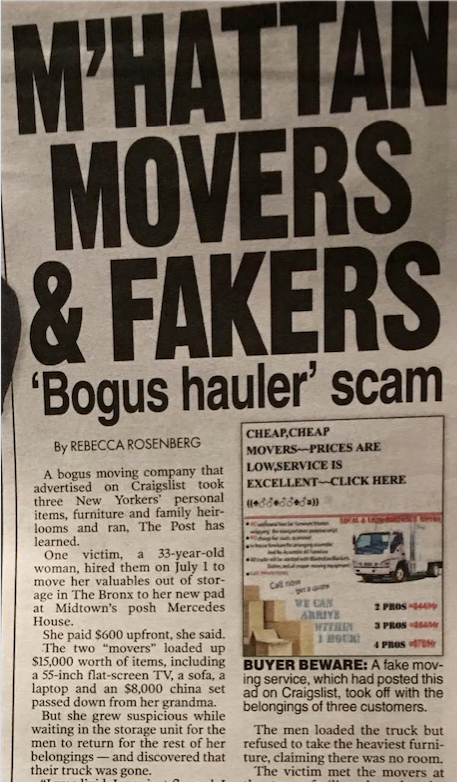 As seen in the NY Post on September 16, 2009