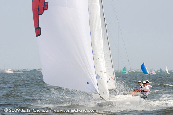 Lucky Dog at E-Scow Easterns