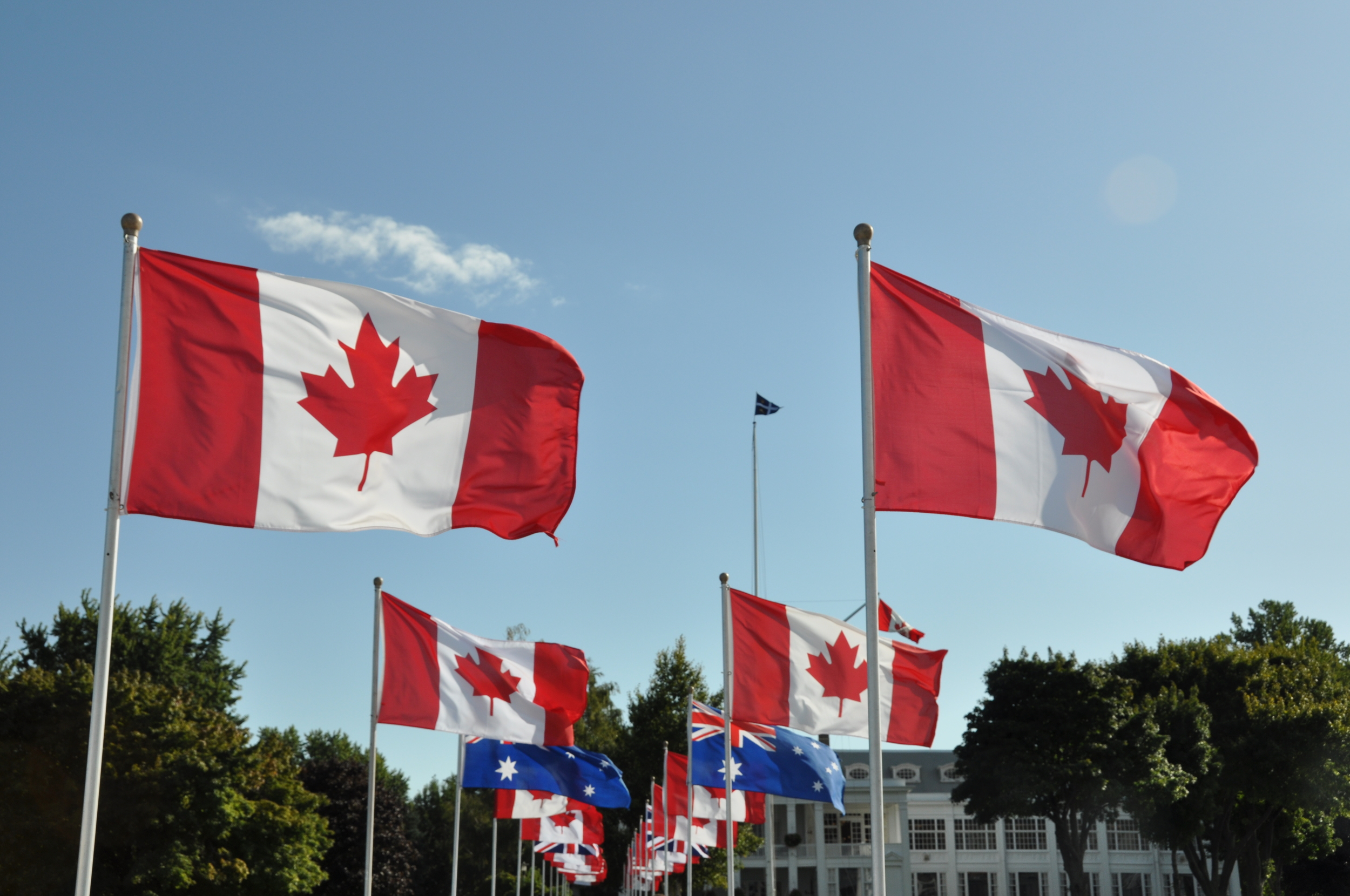 Royal Canadian Yacht Club Flags