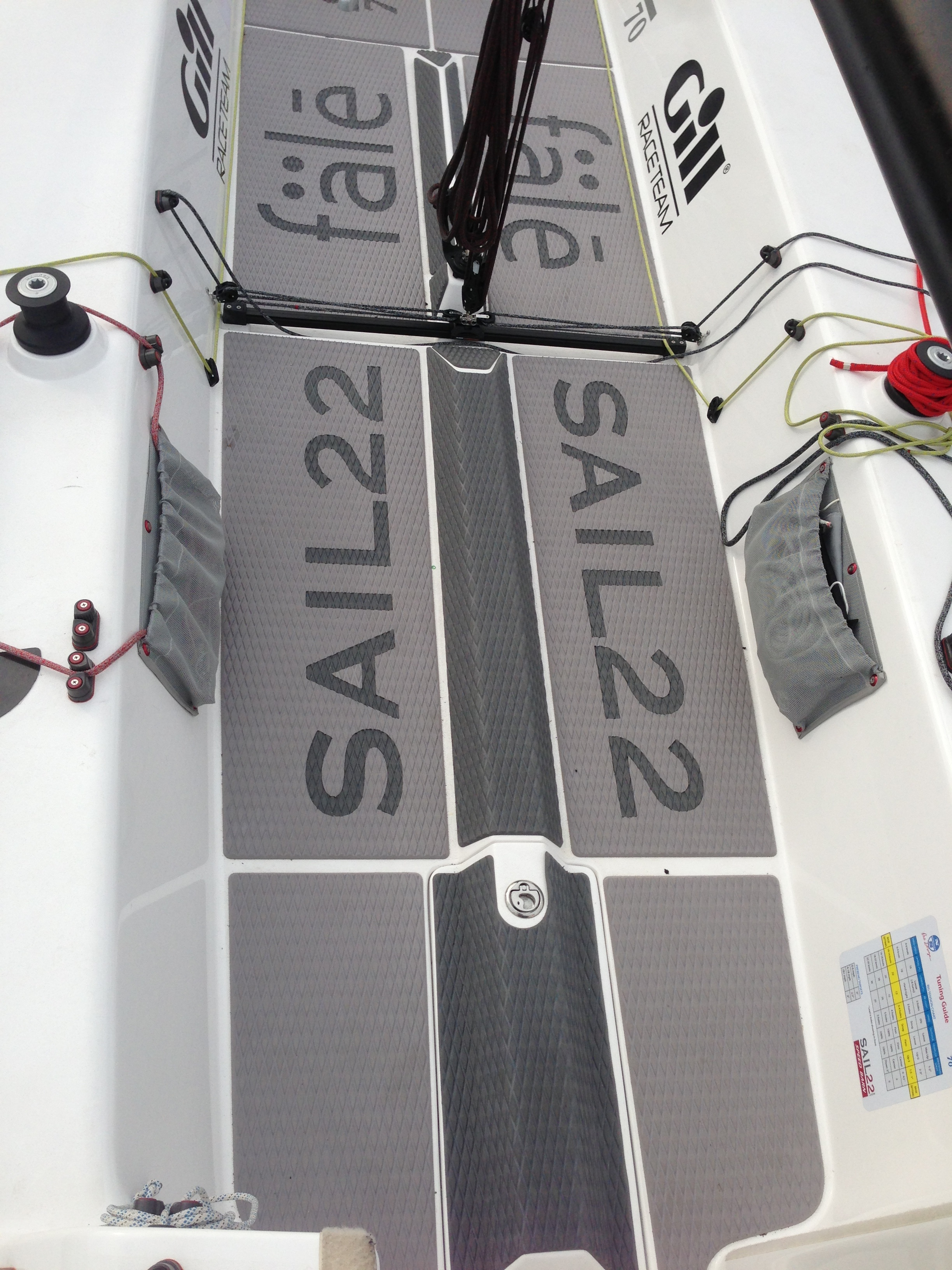 Sail22 J/70 Soft Deck Kit