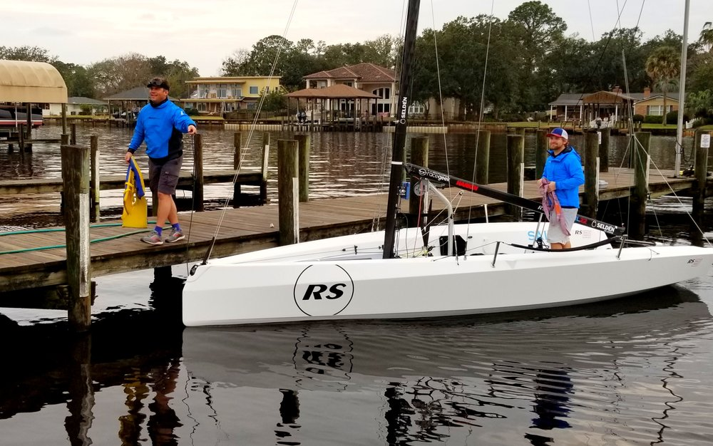 RS21 wrapping up a great demo day at US Sailing NSPS in Jacksonville.
