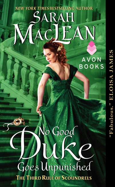 Amazon.com, Best Romance of 2013 Library Reads #1 Pick, December 2013 Winner, Seal of Excellence, RT Book Reviews, December 2013 Winner, 2014 RT Book Reviewers Award, Best Historical Romance Nominee, 2014 RITA Award for Best Historical Romance Purchase 'No Good Duke Goes Unpunished'