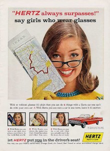 Girls Who Wear Glasses Ad
