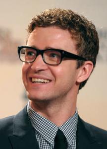 Justin Timberlake in Glasses