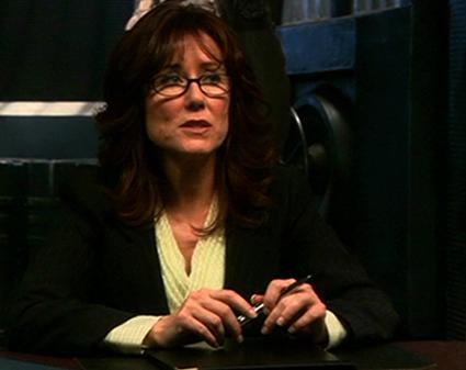 Laura Roslin in Glasses