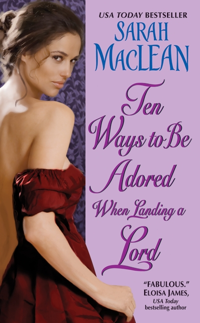 Order Ten Ways to Be Adored...from Amazon, Barnes & Nobleor from your local indie! You can also order signed or personalized copies of Sarah's books online at WORD Bookstore in Brooklyn!